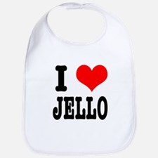 I Heart (Love) Jello Bib
