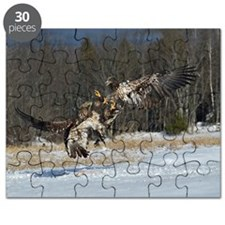 Fighting eagles Puzzle