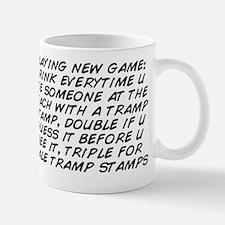 playing new game: drink everytime u see Mug