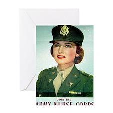 Army Nurse Recruiting Greeting Card