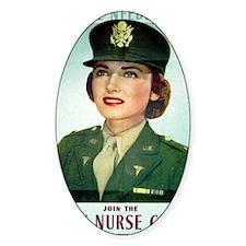 Army Nurse Recruiting Decal
