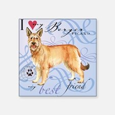 "berger-tile Square Sticker 3"" x 3"""