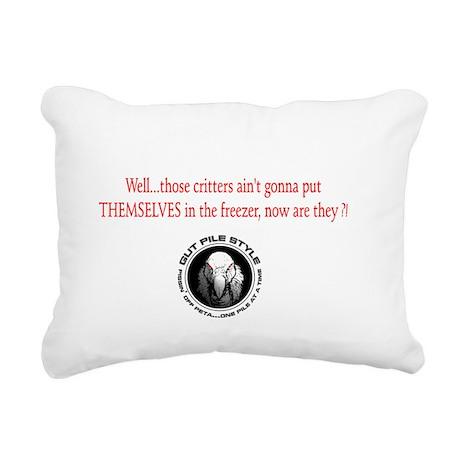 Why Do I Hunt? Rectangular Canvas Pillow