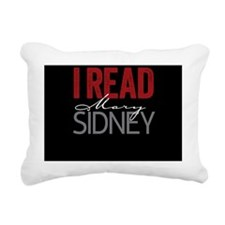 I Read Mary Sidney on bl Rectangular Canvas Pillow