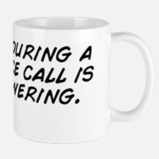 Shitting during a conference call is so Mug
