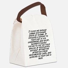 I think we should urban dictionar Canvas Lunch Bag