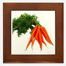 carrots Framed Tile