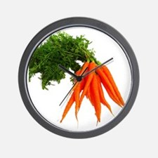 carrots Wall Clock