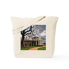 Monticello Square Tote Bag