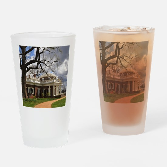 Monticello 9X12 Drinking Glass