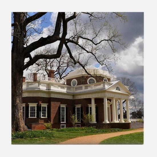 Monticello 9X12 Tile Coaster