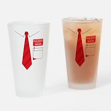 shaun tee 2 Drinking Glass