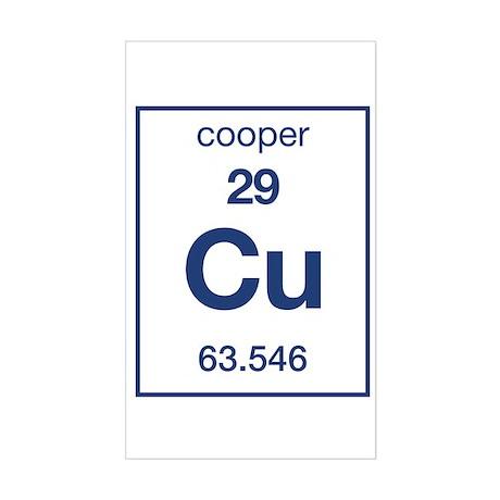 Cooper Rectangle Sticker
