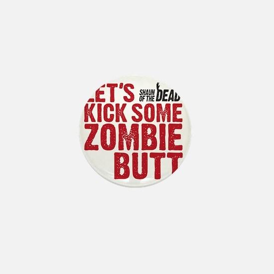 zombie butt Mini Button
