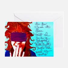 Blind Love - Tea and Recipe Box Greeting Card
