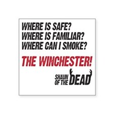 "winchester Square Sticker 3"" x 3"""
