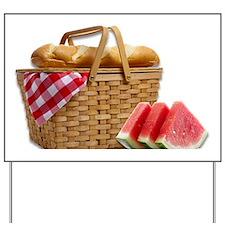 picnic basket Yard Sign