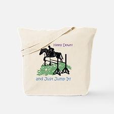 Fun Hunter/Jumper Equestrian Horse Tote Bag