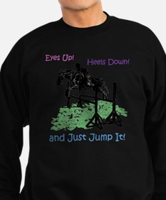 Fun Hunter/Jumper Equestrian Hor Sweatshirt