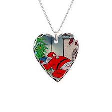 Santas tramp stamp Necklace