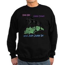 Fun Hunter/Jumper Equestrian Hor Sweatshirt