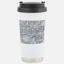 Map of Pomona and San G Stainless Steel Travel Mug