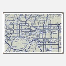 Map of Pomona and San Gabriel Valleys Banner