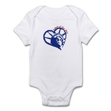 Land of the Free Infant Bodysuit