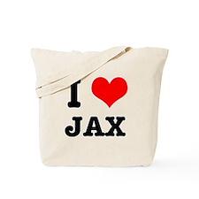 I Heart (Love) Jax Tote Bag