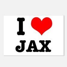 I Heart (Love) Jax Postcards (Package of 8)