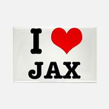 I Heart (Love) Jax Rectangle Magnet