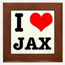 I Heart (Love) Jax Framed Tile