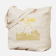 StLouis_12x12_Downtown_Yellow Tote Bag