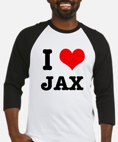 I Heart (Love) Jax Baseball Jersey