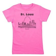 StLouis_10x10_Downtown_Black Girl's Tee