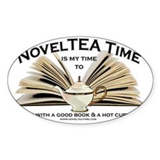 NovelTea Time Classic Curl up with  Decal