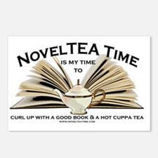 NovelTea Time Classic Cur Postcards (Package of 8)