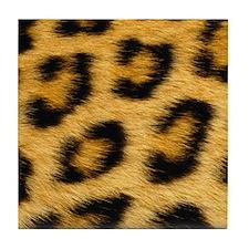 leopard skin Tile Coaster