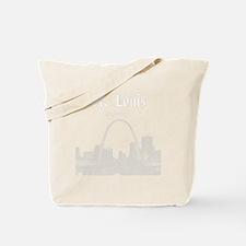 StLouis_12x12_Downtown_White Tote Bag
