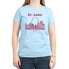 StLouis_10x10_Downtown_Red T-Shirt