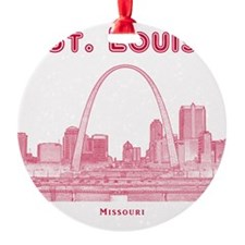 StLouis_10x10_Downtown_Red Ornament