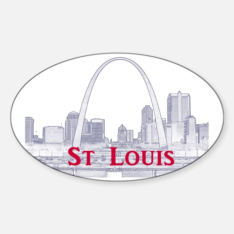 StLouis_Downtown_Rect_BlueRed Decal