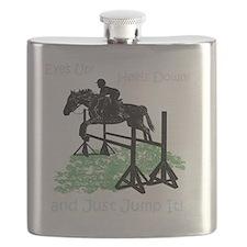 Fun Hunter/Jumper Equestrian Horse Flask