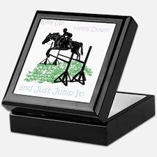 Fun Hunter/Jumper Equestrian Horse Keepsake Box