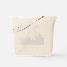 StLouis_10x10_Downtown_White Tote Bag