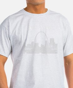 StLouis_10x10_Downtown_White T-Shirt