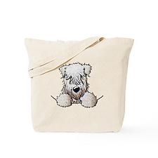 SC Wheaten Pocket Tote Bag