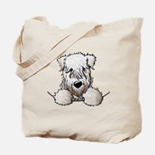 SC Wheaten Pocket Tote Bag