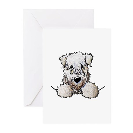 SC Wheaten Pocket Greeting Cards (Pk of 10)