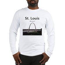 St Louis Gateway Arch Long Sleeve T-Shirt